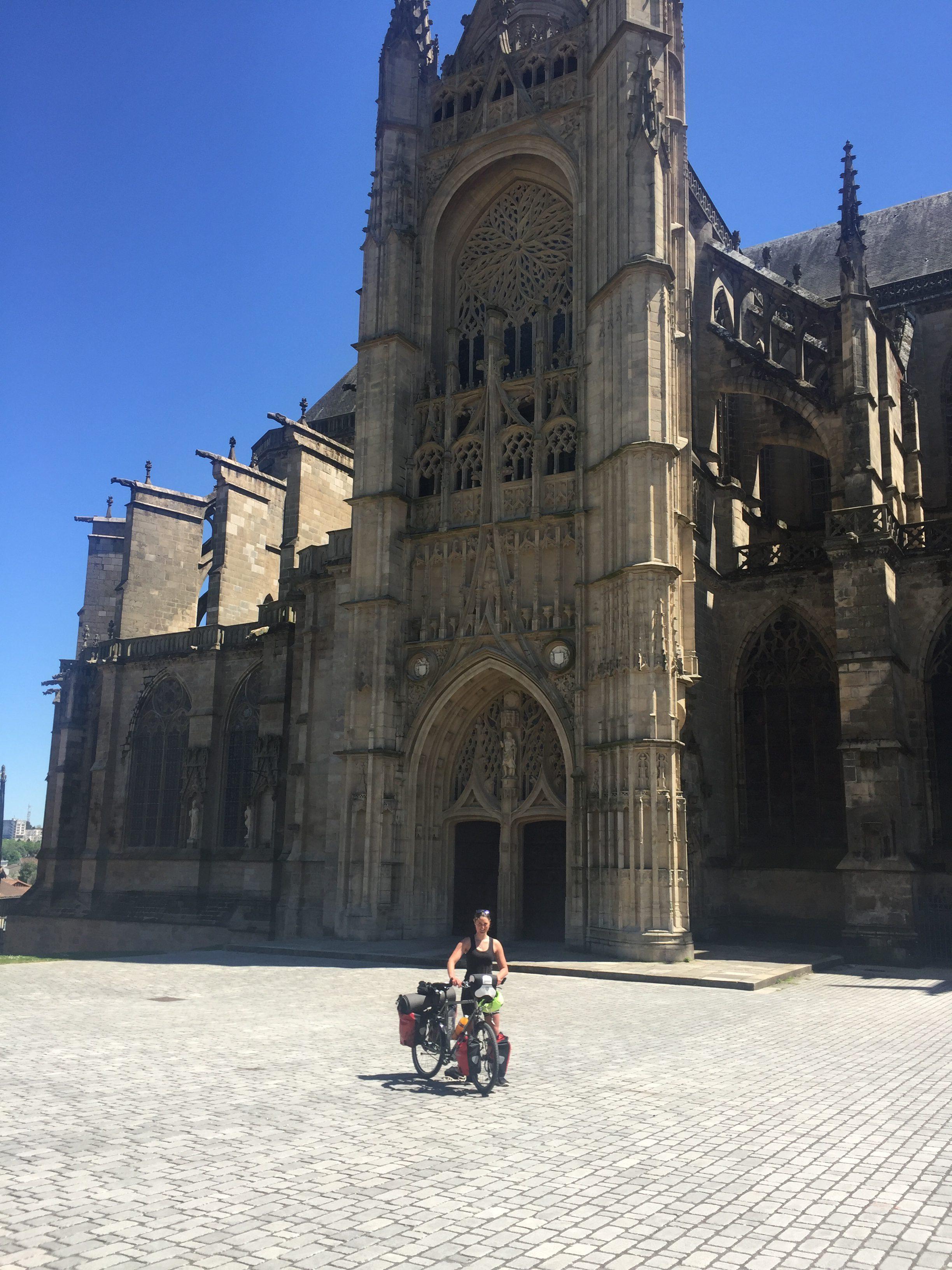 Ankunft in Limoges