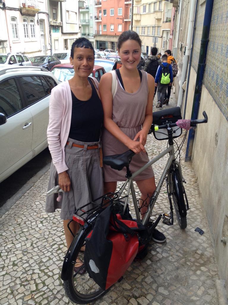 Verwandschaft in Lissabon