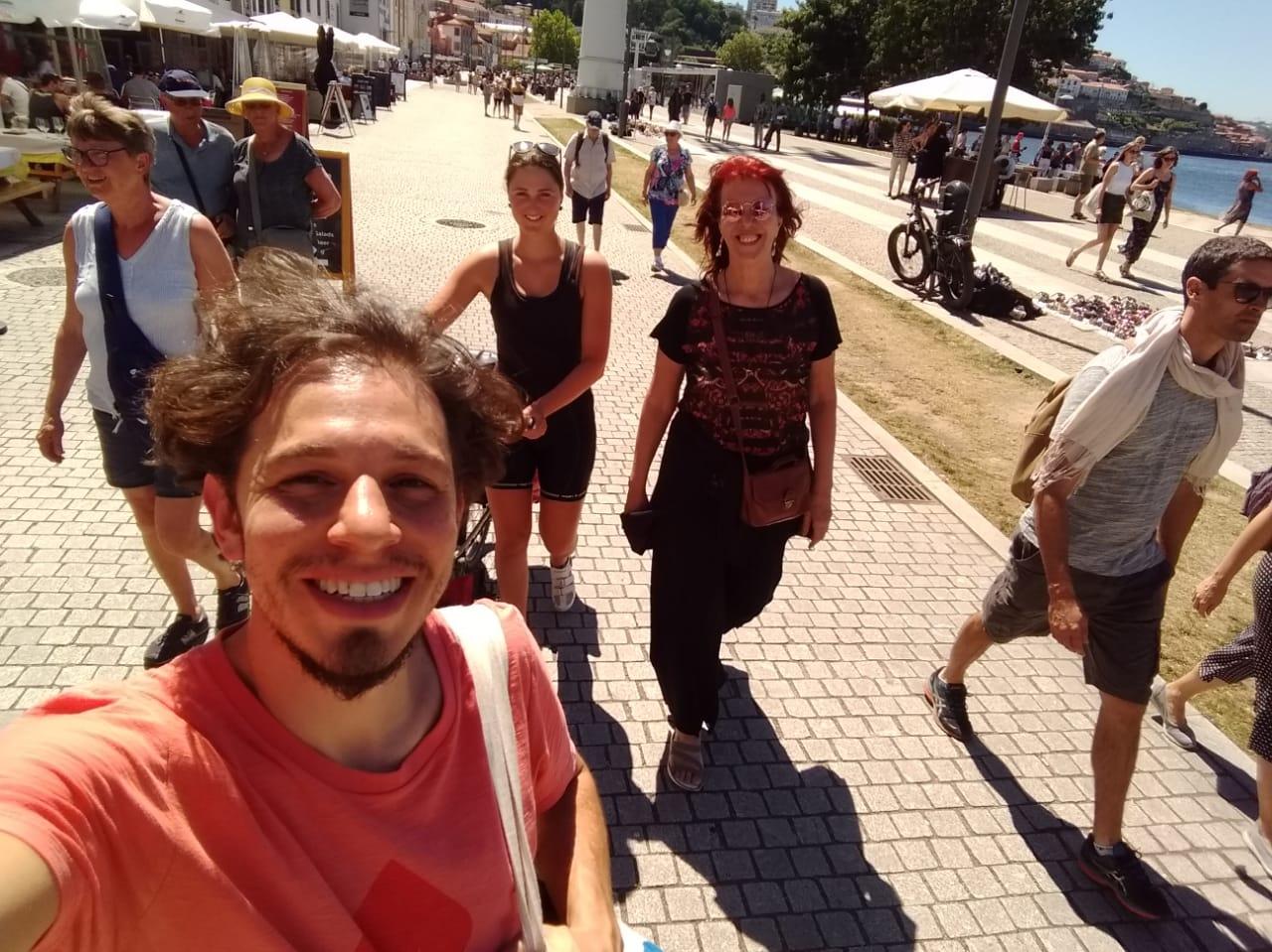 Miriam, Fernando und ich