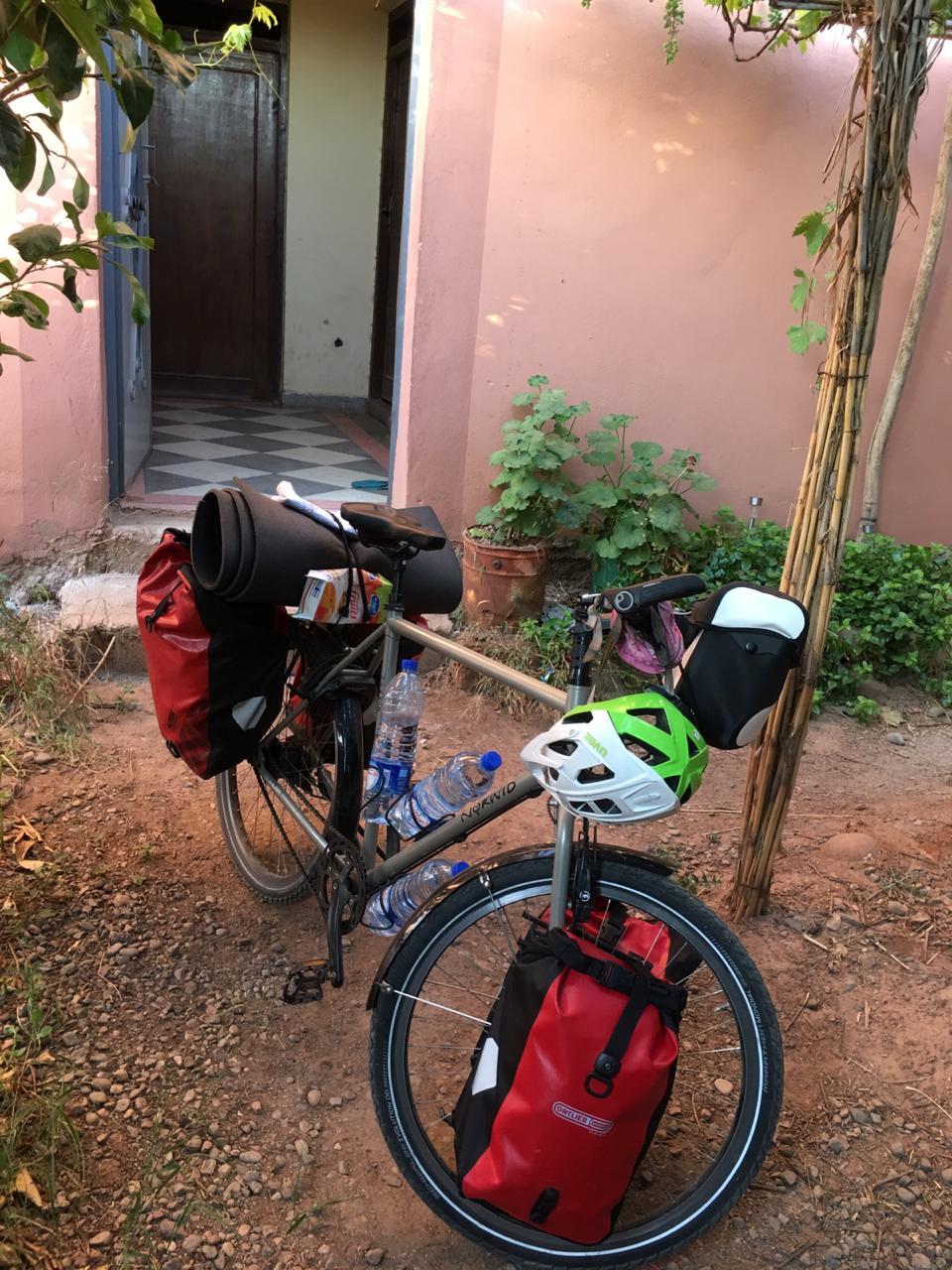 Abreise aus Marrakesch